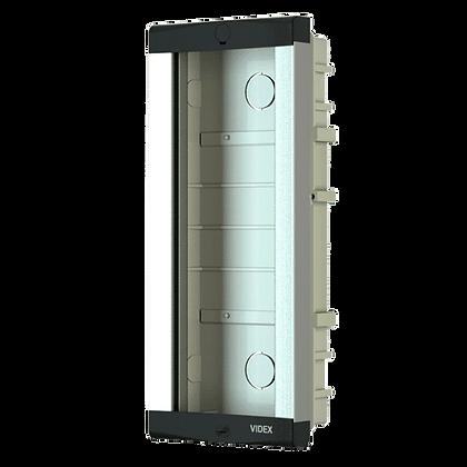 VIDEX 8K Series Flush Housing - 2 Module