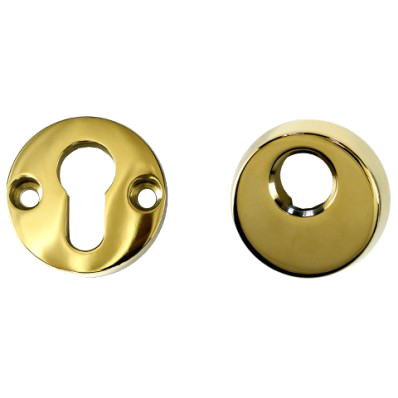 ASEC High Security Escutcheon - PVD Gold