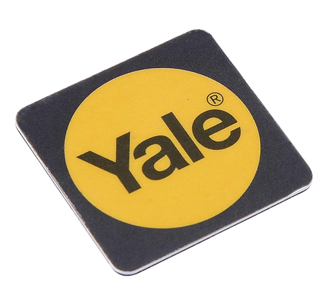 YALE Smart Lock Phone Tag - Black - Twin Pack