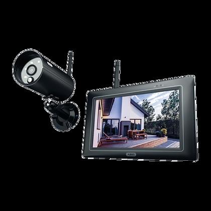 ABUS PPDF16000 OneLook Wireless IR Outdoor 7 Inch Touchscreen Surveillance Set