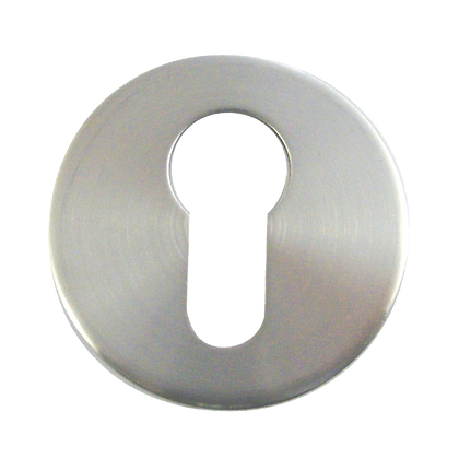 ASEC Stainless Steel Escutcheon - 5mm SS Euro