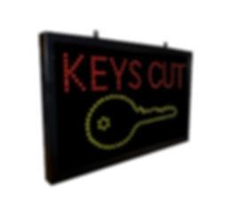 Key Cutting Advertising Signs