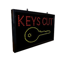 Key Cutting Advertising Signs