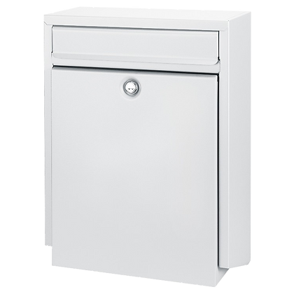 DAD Decayeux D100 Series Post Box - White