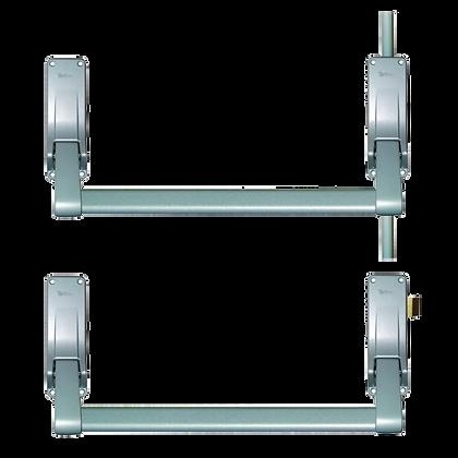 BRITON 377 Push Bar Double Rebated Door Panic Set - RH