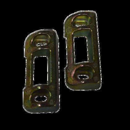 BRITON 376 Series Metal Door Strike - Zinc Plated