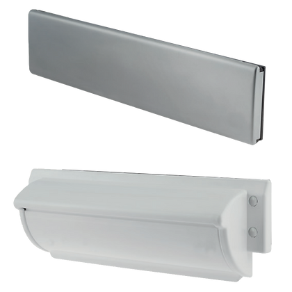 TROJAN Unicorn TS008 FD30 Letterplate - Brushed Stainless Steel