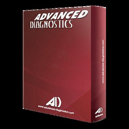 ADVANCED DIAGNOSTICS ADS2112 Nissan Category A Software -  ADS2112