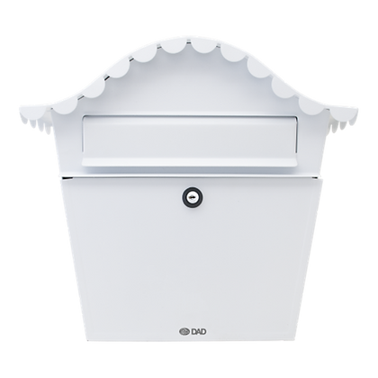 DAD Decayeux Sirocco Post Box - White