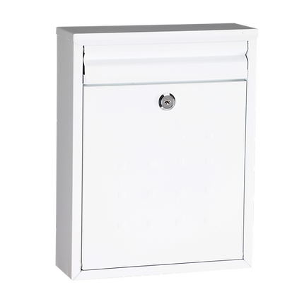 ASEC Modern Post Box - White