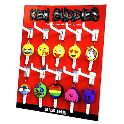 Key Buddies Key Stand with 40 x Torch Light Heads
