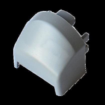 BRITON 570 Series Front Bar End Plug - Silver