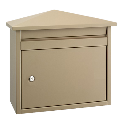 DAD Decayeux D560 Series Post Box - Beige