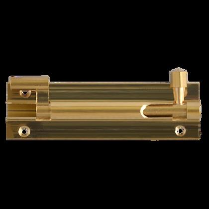 ASEC VITAL Brass 25mm Wide Necked Barrel Bolt - 100mm
