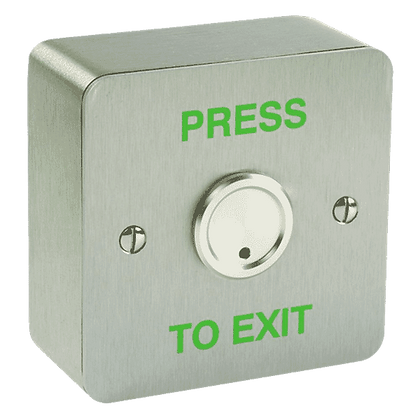 ALPRO Waterproof Exit Button - 1 Gang