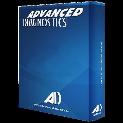 ADVANCED DIAGNOSTICS ADS2128 Proton Category B Software -  ADS2128