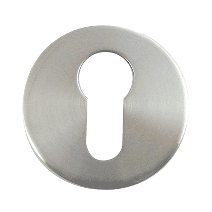 ASEC Stainless Steel Escutcheon - 10mm Euro