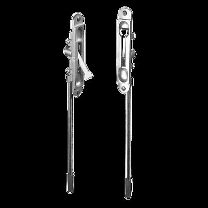ADAMS RITE 6201-6-12 Flat Flush Bolt - 145mm SC
