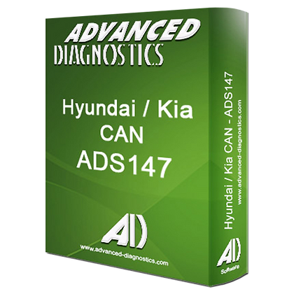 ADVANCED DIAGNOSTICS ADS147 Hyundai & Kia Can Category C Software - ADS147