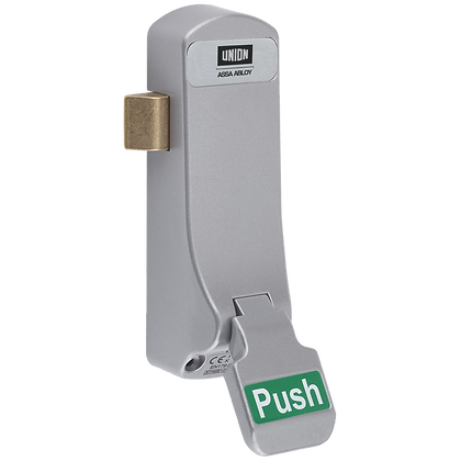 UNION ExiSAFE Push Pad Emergency Latch For Single Doors - For Timber Doors
