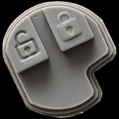 SILCA SZRS2 2 Button Remote Case To Suit Vauxhall Subaru & Suzuki Vehicles