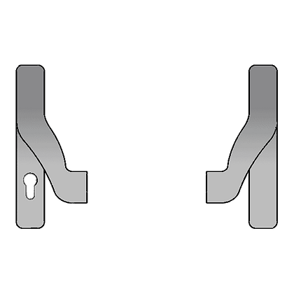 GU BKS Panic Bar Actuator For Secury Panic E Multipoint Lock - B7192-5101