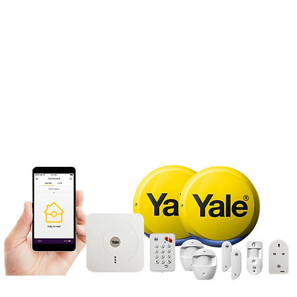 YALE Smart Home Alarm, View & Control Kit SR-340 - SR-340
