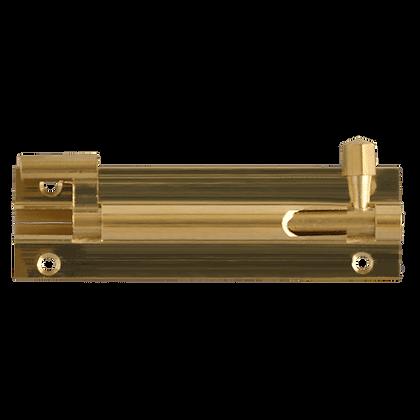 ASEC Brass Necked Barrel Bolt - 76mm (Visi)