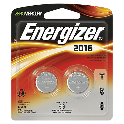 ENERGIZER CR2016 3V Lithium Coin Battery - Twin Pack - CR2016 - Twin Pack