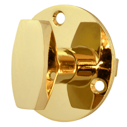 UNION J5203 Knob Turn - Polished Brass