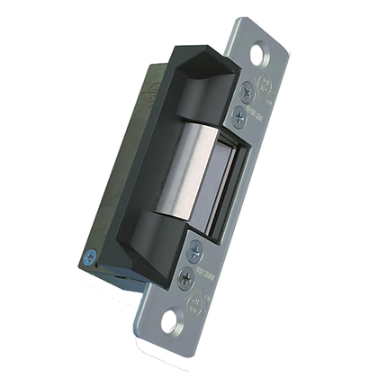 ADAMS RITE 7100 Mortice Release Flat Aluminium - 24VDC F/L