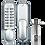 Thumbnail: ASEC AS2300 Series Digital Lock With Optional Holdback - SC Visi
