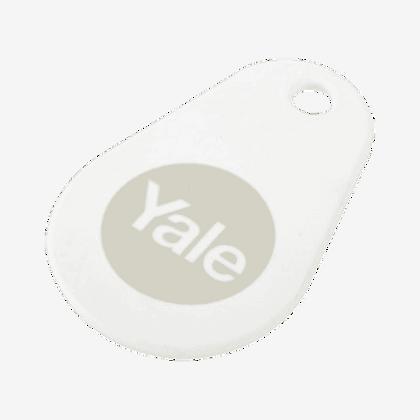 YALE Smart Lock Key Tag - White
