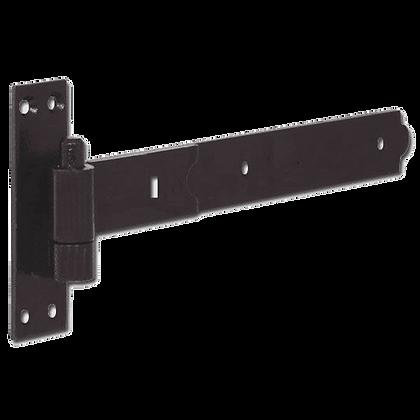 ASEC Straight Band & Hook - Black - 450mm