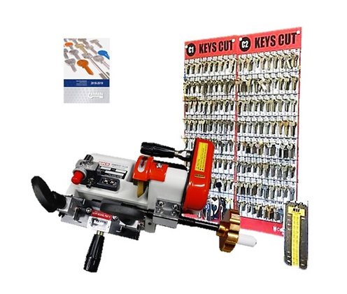 Tempest Plus Cylinder Key Cutting Starter Package