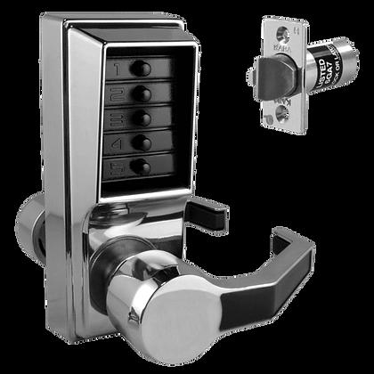 DORMAKABA Simplex L1041B Digital Lock With K/O & Passage Set- SC RH No Cylinder