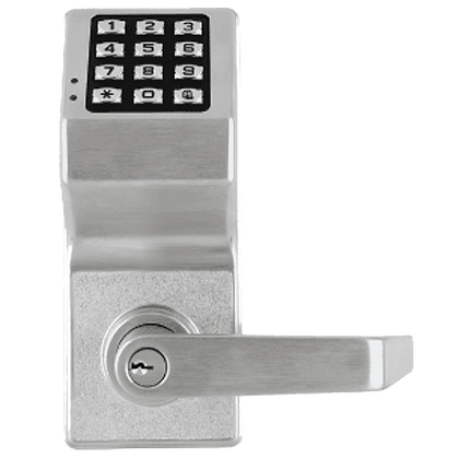 TRILOGY ALARM LOCK DL2700WP Battery Operated Digital Lock - SC