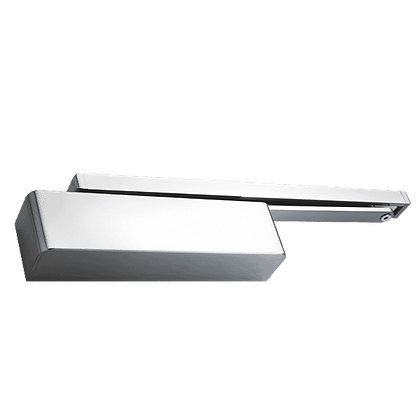 BRITON 2320/1 Size 2-4 Cam Action Door Closer - SSS Push/Pull - Softline Cover