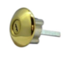 Ingersoll SC1 Rim Cylinder Polished Bras