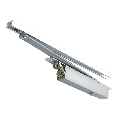 BRITON 2400 Size 2-4 Concealed Cam Action Door Closer - 2-4 Sat Stainless Steel