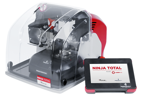 Keyline Ninja Total Key Cutting Machine.