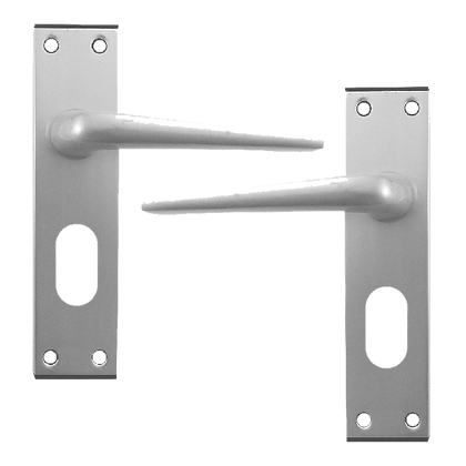 DORTREND 4212 Shirley Plate Mounted Lever Lock Furniture - SAA Oval
