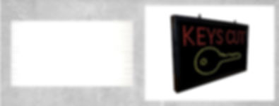 Key Cutting Machine Advertising Signs