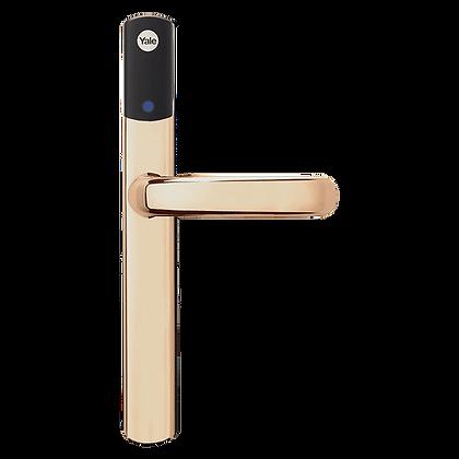 YALE Conexis L1 British Standard Smart Door Lock - No Module - Polished Brass