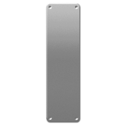 ASEC 75mm Wide Stainless Steel Finger Plate - 300mm SS