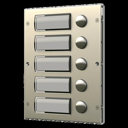8K Series Extension Panel - 5 Button