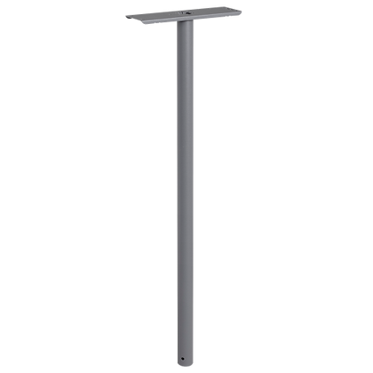 DAD Decayeux P800 Series Post Box Pole & Stand - Grey