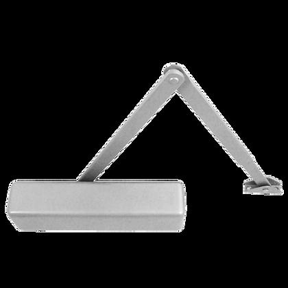 BRITON 2110 Size 2-4 Overhead Door Closer - Silver (SES) - L Cover