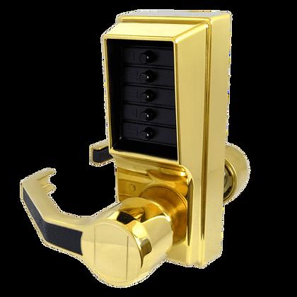 DORMAKABA Simplex L1000 Series L1031 Digital Lock Operated W Passage Set -PB LH