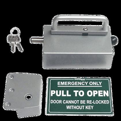 COOPERBOLT Non-Alarmed Door Bolt 102 Series - Key Switch